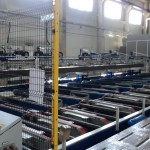 výrobní linka garážových vrat