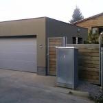Garážová vrata v Unhošti