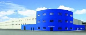 Výrobní hala Doorhan